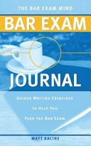 The Bar Exam Mind Bar Exam Journal