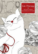 Cat Therapy A Mindful Colouring Book For Adults : ...
