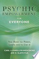 Ebook Psychic Empowerment for Everyone Epub Carl Llewellyn Weschcke,Joe H. Slate Apps Read Mobile