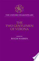 The Oxford Shakespeare  The Two Gentlemen of Verona