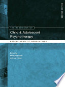 The Handbook of Child and Adolescent Psychotherapy Adolescent Psychotherapy Reflects The Many Changes In