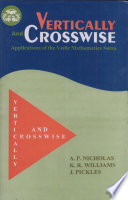 Vertically and Crosswise