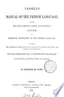 Cassell s manual of the French language