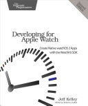 download ebook developing for apple watch pdf epub
