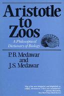 Aristotle to Zoos