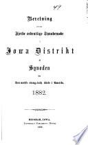 Beretning om det Synodemoede
