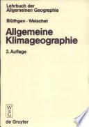 Allgemeine Klimageographie