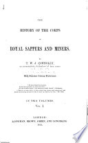 The History of the Corps of Royal Sappers and Miners