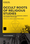 Occult Roots Of Religious Studies