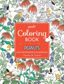 Posh Adult Coloring Book  Peanuts for Inspiration and Relaxation