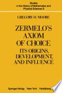 Zermelo   s Axiom of Choice Book PDF