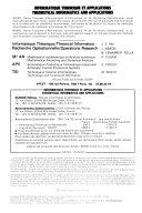 Informatique Th  orique Et Applications