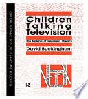 Children Talking Television