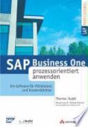 SAP Business One prozessorientiert anwenden