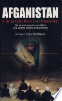 Afganistán y la geopolítica internacional
