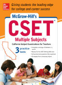 McGraw Hill s CSET Multiple Subjects