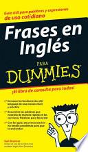 Frases En Ingl S Para Dummies