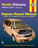 Honda Odyssey 1999 Thru 2010