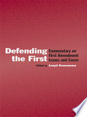 Defending the First Book PDF