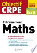 Objectif CRPE Entrainement En Maths   2018
