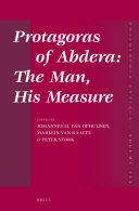 Protagoras - tome III, 1ère partie