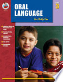 Oral Language for Daily Use  Grade 3