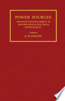 Research and Development in Non-Mechanical Electrical Power Sources