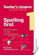 Spelling First