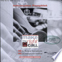 Information Pamphlet Make The Right Call Ems Emergency Medical Services January 1999