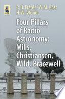 Four Pillars of Radio Astronomy  Mills  Christiansen  Wild  Bracewell