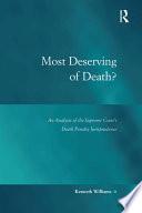 Most Deserving of Death