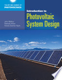 Introduction to Photovoltaic System Design