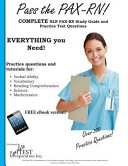 Pass the Pax RN  a Complete Nln Pax RN Study Guide and Practice Test Questions