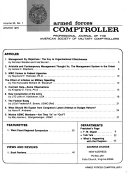Armed Forces Comptroller
