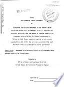 Treatment Works Research Capability P L 92 500 Amendment