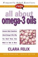 Ebook All About Omega-3 Oils Epub Clara Felix,Jack Challem Apps Read Mobile