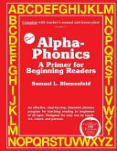 Alpha Phonics a Primer for Beginning Readers