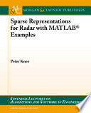 Sparse Representations for Radar with MATLAB Examples