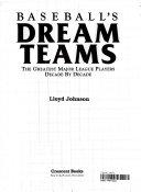 Baseball S Dream Teams