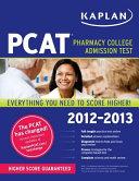 Kaplan PCAT 2012 2013