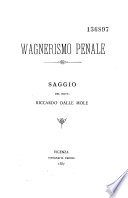 Wagnerismo penale