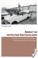 Armut im geteilten Deutschland