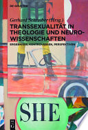 Transsexualit T In Theologie Und Neurowissenschaften