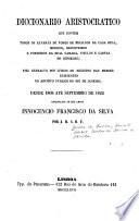Diccionario aristocratico