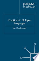 Emotions in Multiple Languages