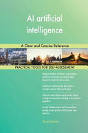 Ai Artificial Intelligence A Clear And Concise Reference