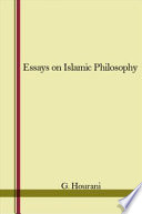 Essays on Islamic Philosophy
