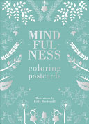 Mindfulness Coloring Postcard Set