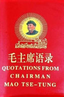 Quotations from Chairman Mao Tse tung Book PDF