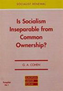 Is Socialism Inseparable from Common Ownership?